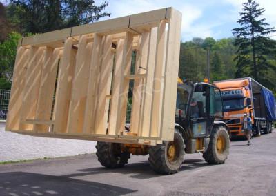 1- Murs ossature bois sur manitou
