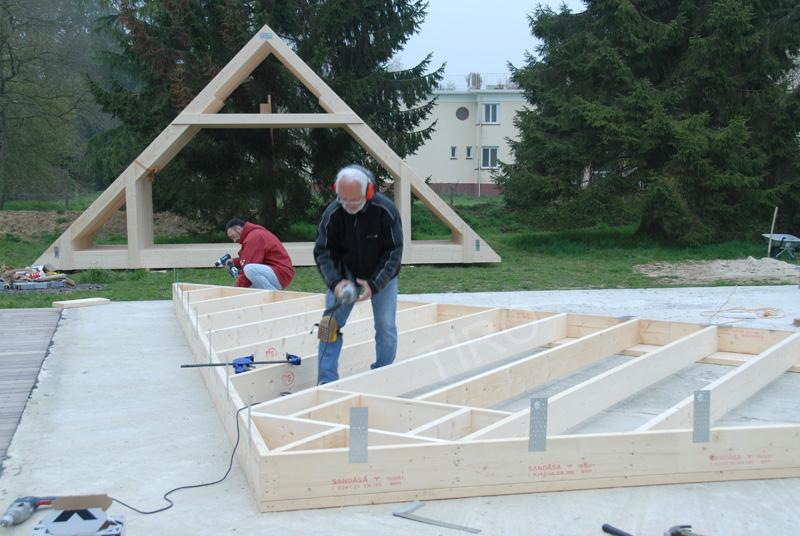 Pignons comme murs 45 d une maison ossature bois maisons ossature bois e - Prix d une maison ossature bois ...