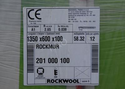 1- Isolation Rockwool rockmur 201 nu