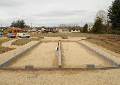 1- Solivage bois fondations
