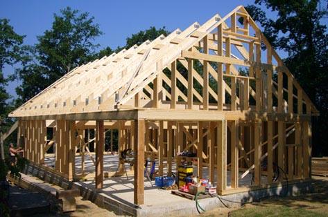 Maison ossature bois en kit pour autoconstructeur