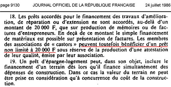 Journal officiel - 24 juillet 1986