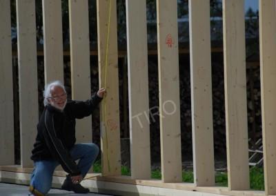 1- Montants murs ossature bois
