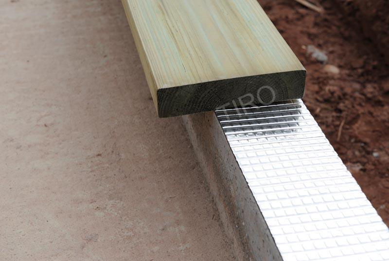 Lisse basse impr gn e cca d une maison ossature bois - Maison en bois basse consommation ...