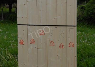 2- Murs ossature bois estampillés