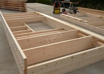 2- Montants murs ossature bois