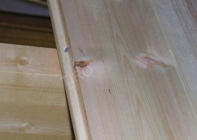 3- Lames de plancher en pin