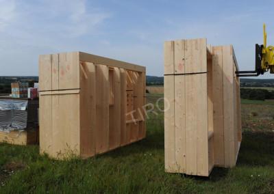 3- Murs ossature bois stockés