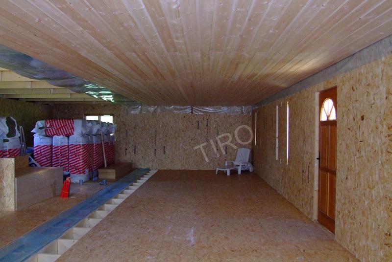 Contreventements en osb d'une maison ossature bois  Maisons ossature bois en