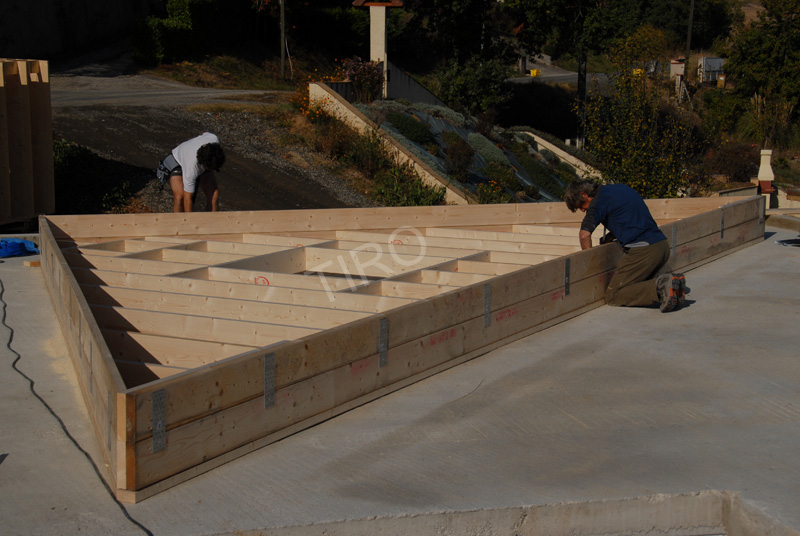 3 pignon comme mur 45 maisons ossature bois en kit tiro. Black Bedroom Furniture Sets. Home Design Ideas