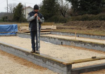 3- Solivage bois verification de niveau