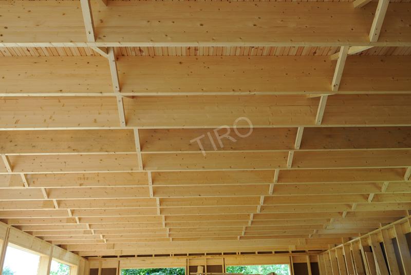 Solive interm diaire 45 d une maison ossature bois maisons ossature bois e - Prix d une maison ossature bois ...