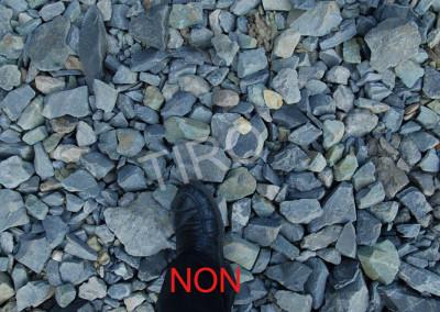 3- Chantier gravillonné NON