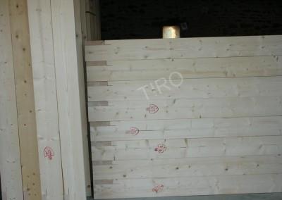 3- Montants murs ossature bois