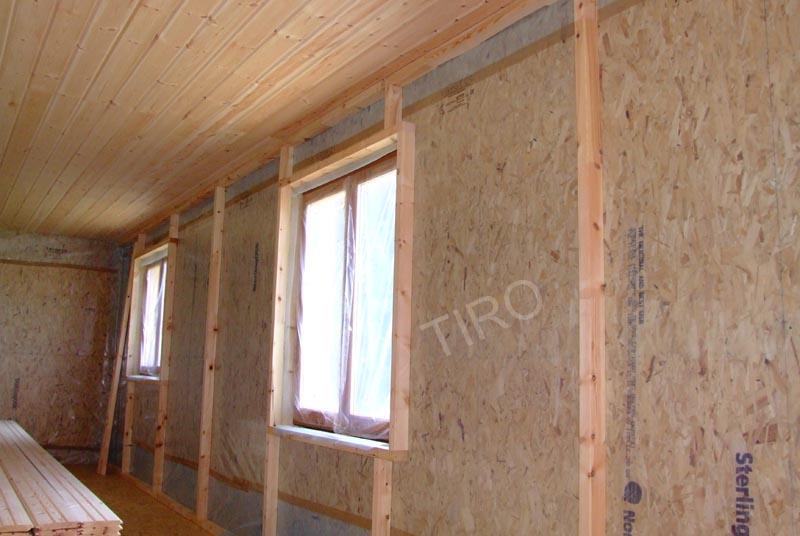 chevrons pour isolation renforc e d une maison ossature bois maisons ossature bois en kit tiro. Black Bedroom Furniture Sets. Home Design Ideas