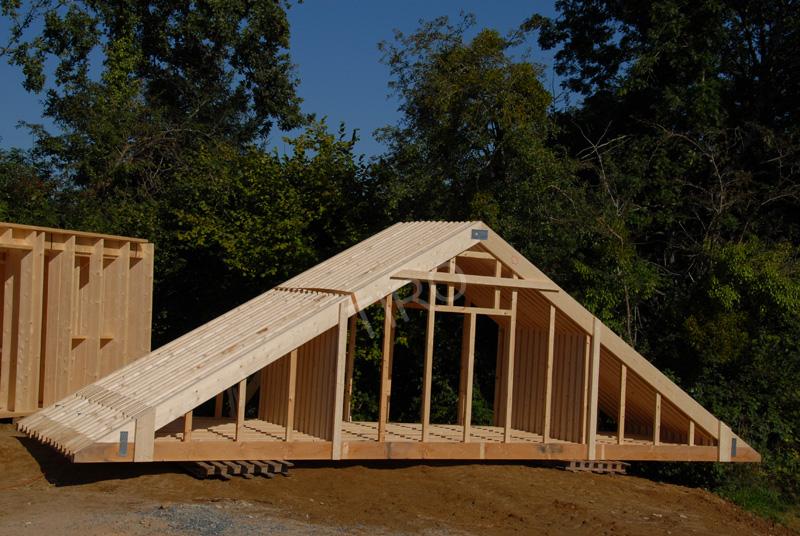 Fermettes 30 d une maison ossature bois maisons ossature bois en kit tiro - Prix d une maison ossature bois ...