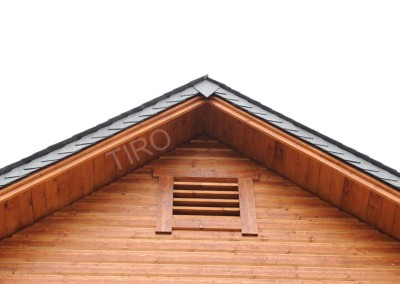 5- Encadrement grille de ventilation