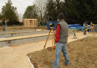 5- Solivage bois verification niveau