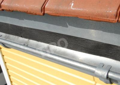 2- Gouttière tôle et sous-toiture