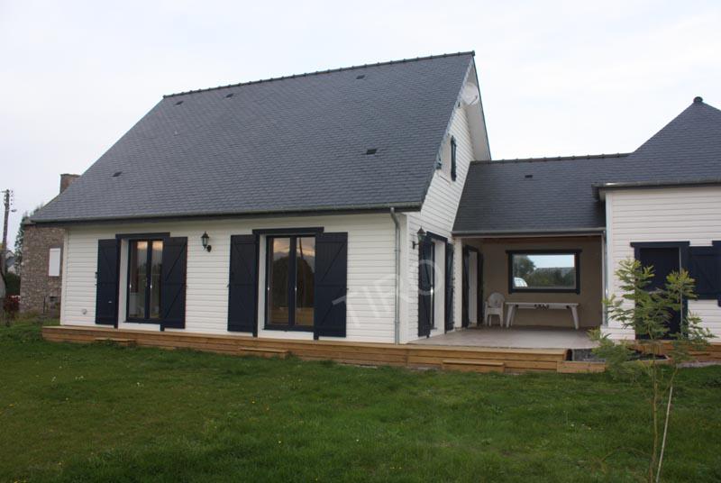 5 Maison TIRO avec combles  Maisons ossature bois en kit TIRO