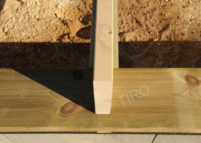 9- Solivage bois lisse basse solive
