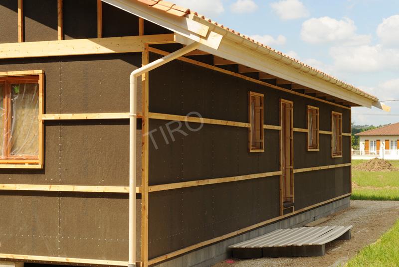 bardage pour maison ossature bois. Black Bedroom Furniture Sets. Home Design Ideas