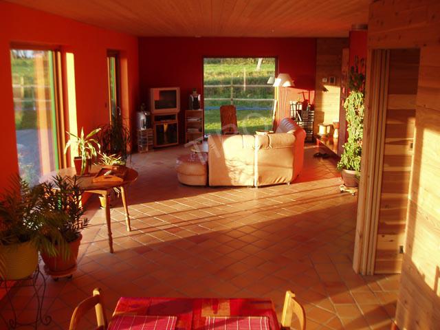 R alisations maisons tiro maisons ossature bois en kit tiro for Interieur en bois
