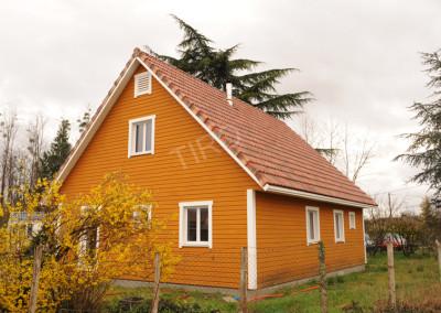 8- Maison TIRO avec combles
