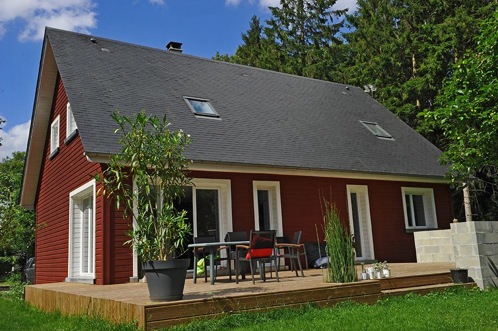 Réalisations maisons TIRO  Maisons ossature bois en kit TIRO