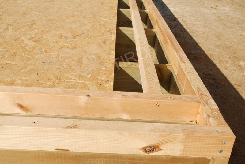 33 rehausse 70 mm maisons ossature bois en kit tiro. Black Bedroom Furniture Sets. Home Design Ideas