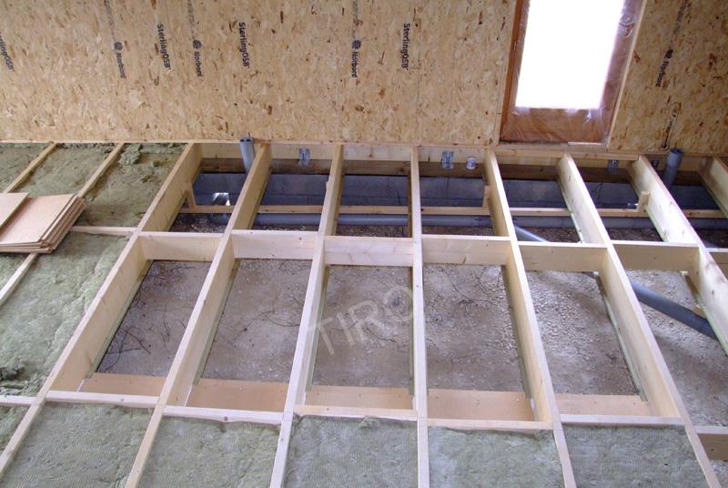45 isolation et tuyaux maisons ossature bois en kit tiro - Isolation maison ossature bois ...
