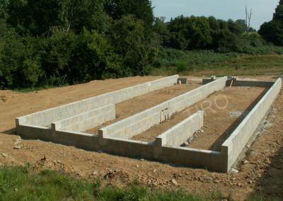 1- Solivage bois avec murs de refend