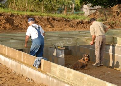 3- Solivage bois avec murs de refend